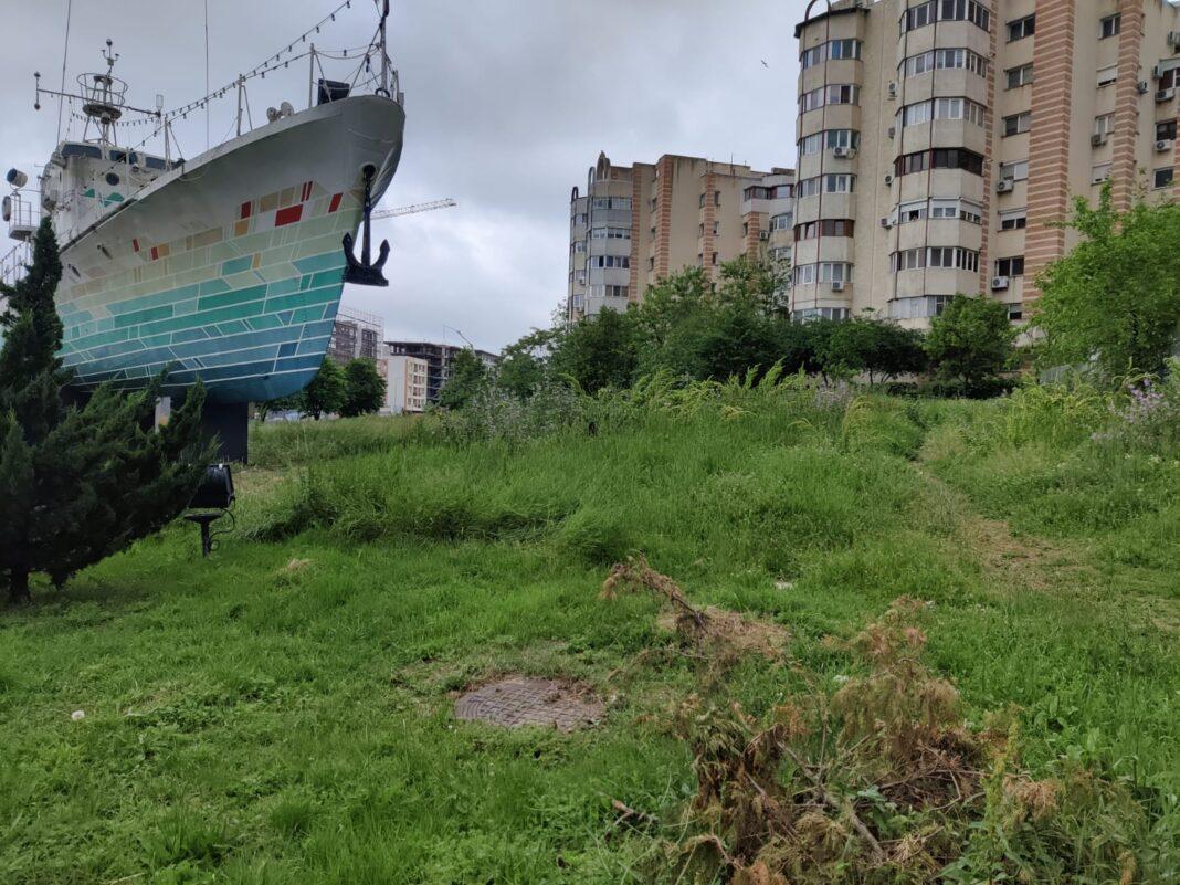 Constanța, vapor intrare oraș