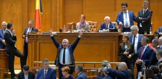 Scandal parlament
