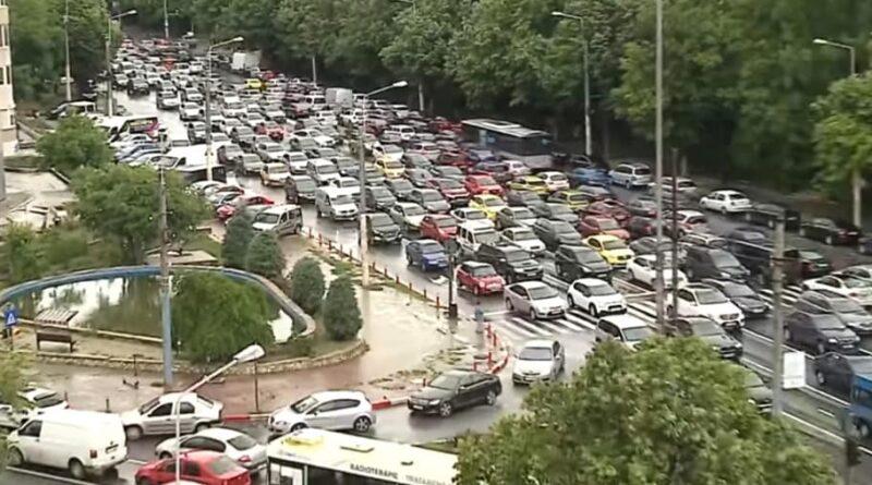 Traficul de pe străzile Constanței